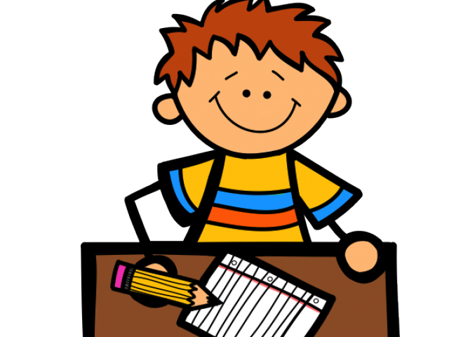 Writing students cliparts free. Paper clipart student