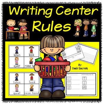 Rules . Desk clipart writing center