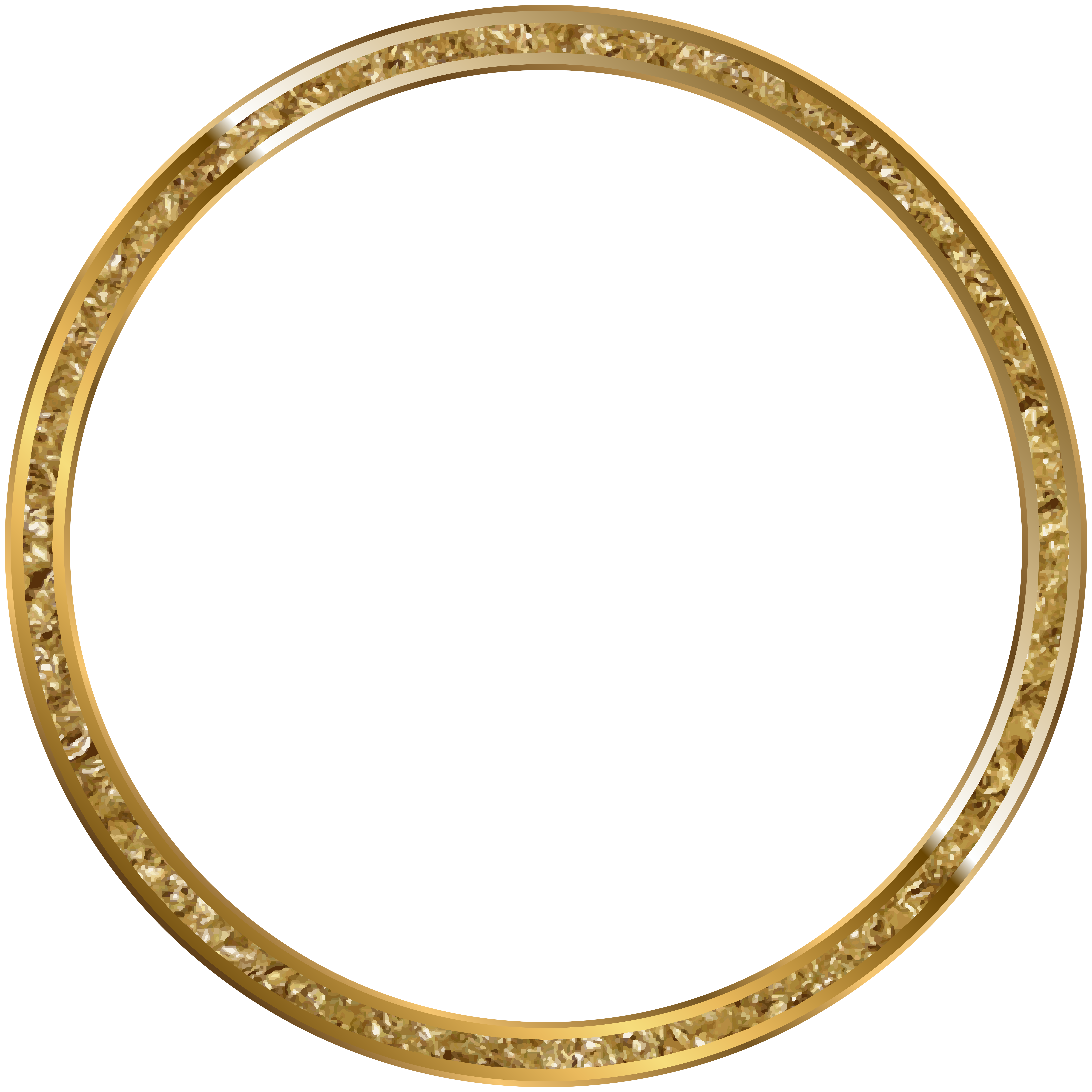 Round border frame gold. Clipart diamond banner