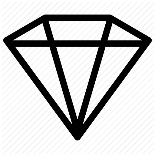 Diamond clipart basic. Logo triangle transparent clip