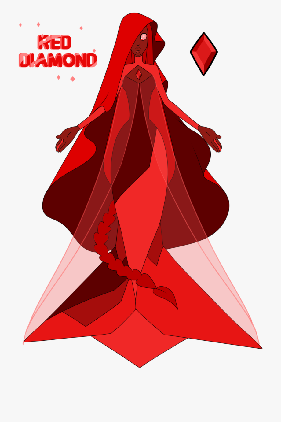Gem clipart blood diamond. Gems steven universe red
