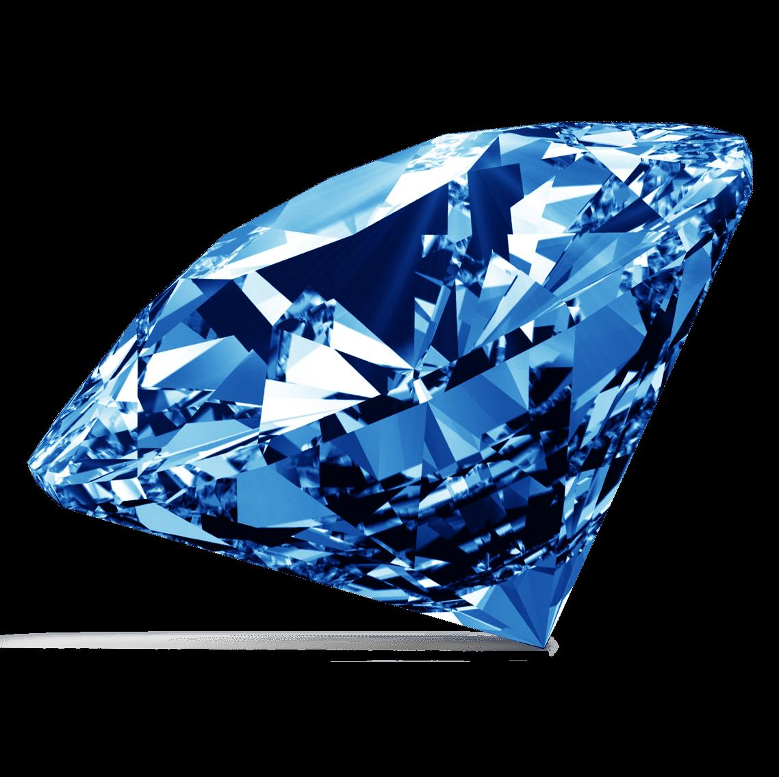 Clipart diamond blue diamond. Transparent png stickpng