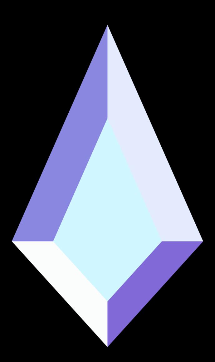 Clipart diamond blue diamond. Steven universe updated by