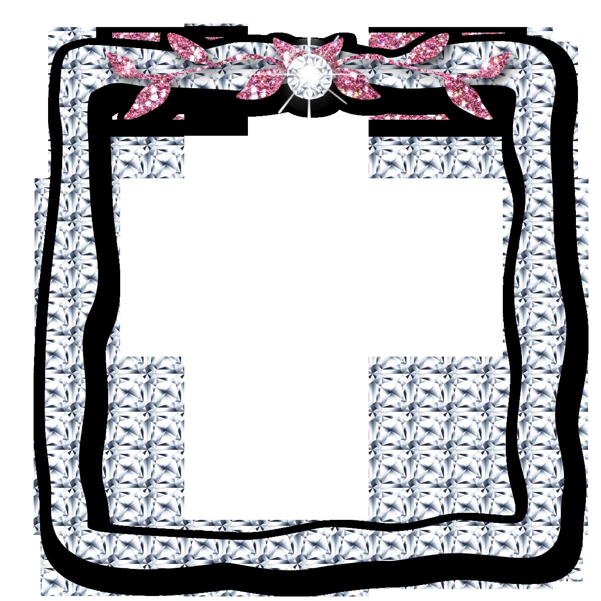 Diamond clipart borders.  free pretty frames