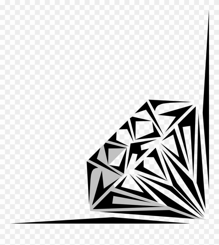 Diamonds card png download. Diamond clipart borders