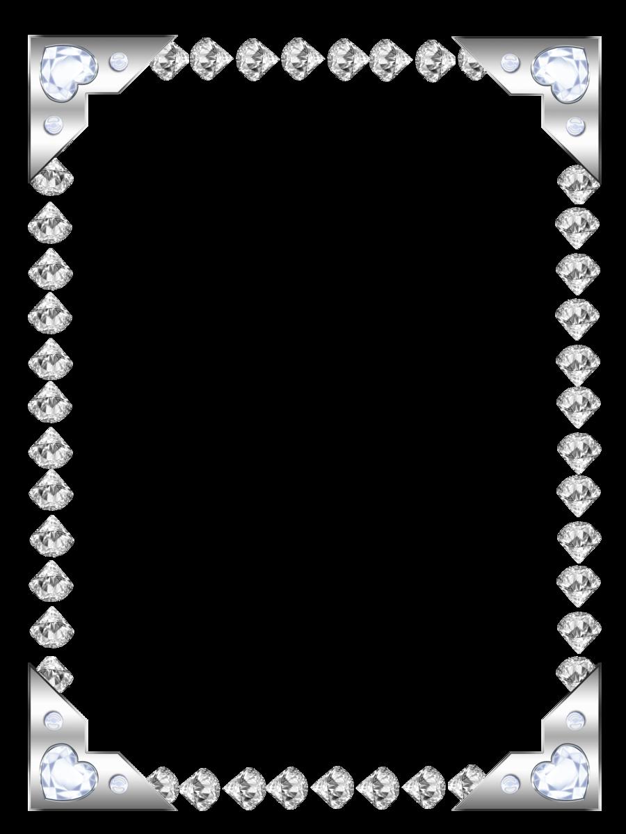 Clipart diamond borders. Diza frames by deviantart
