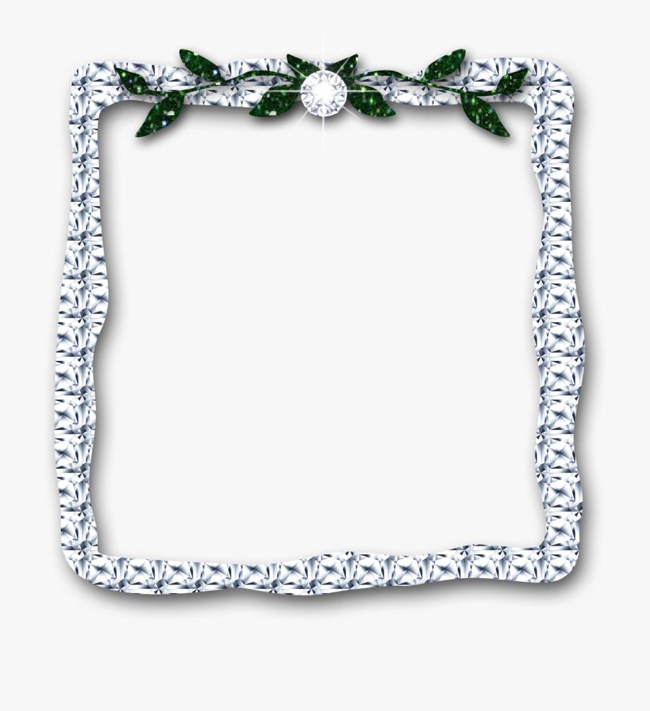 Diamond leaves digital download. Diamonds clipart frame