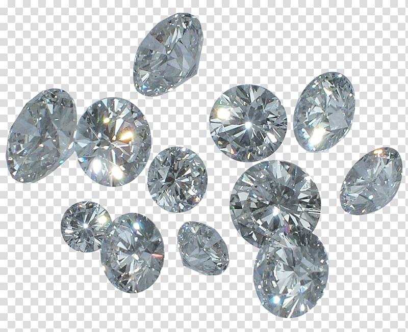 Clipart diamond bunch. Of diamonds transparent background