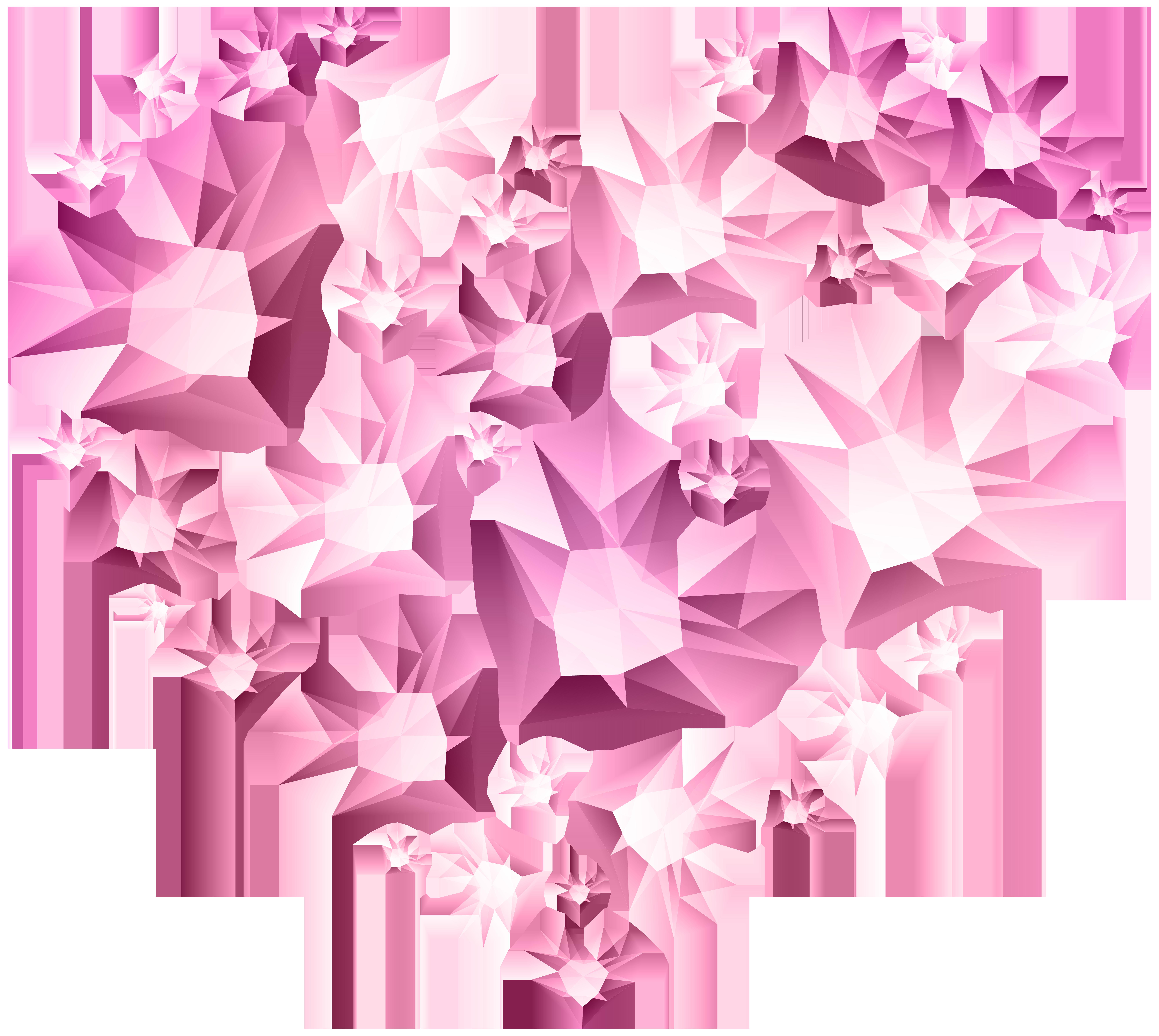Clipart diamond bunch. Hert of hearts transparent