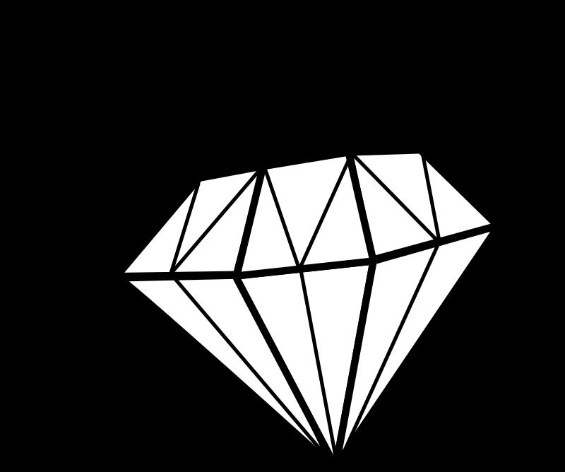 clipart diamond cartoon