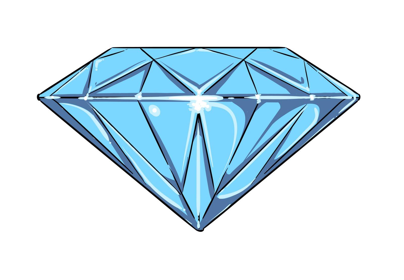 Gem clipart cartoon blue. Free diamond download clip