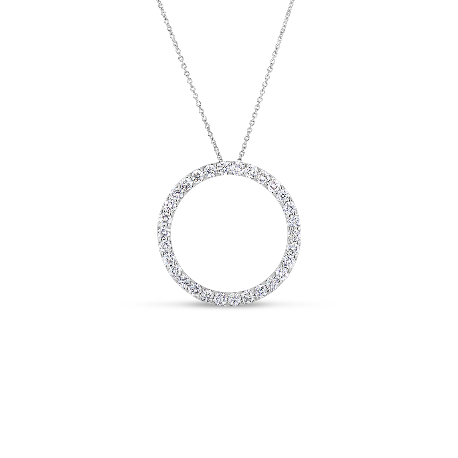 Diamond circle necklace sensational. Jewelry clipart jewelry display