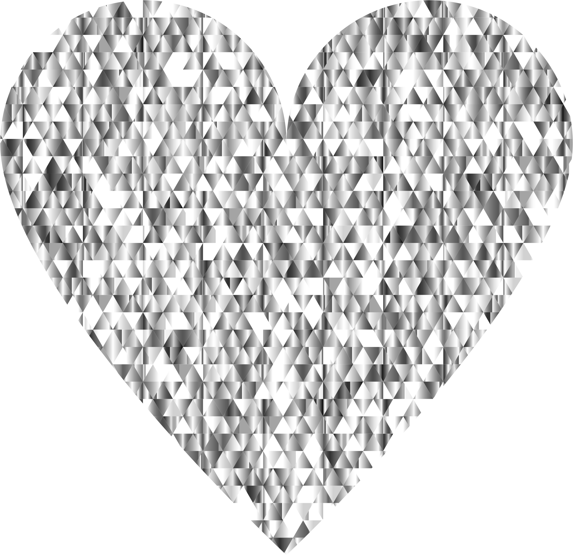 Gemstone heart no background. Glitter clipart diamond