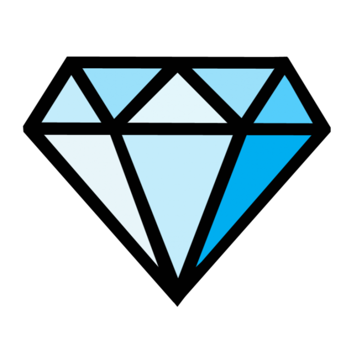Brilliant png image with. Diamond clipart basic