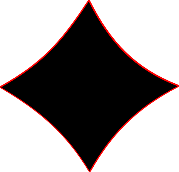Diamonds clipart line drawing. Black diamond clip art