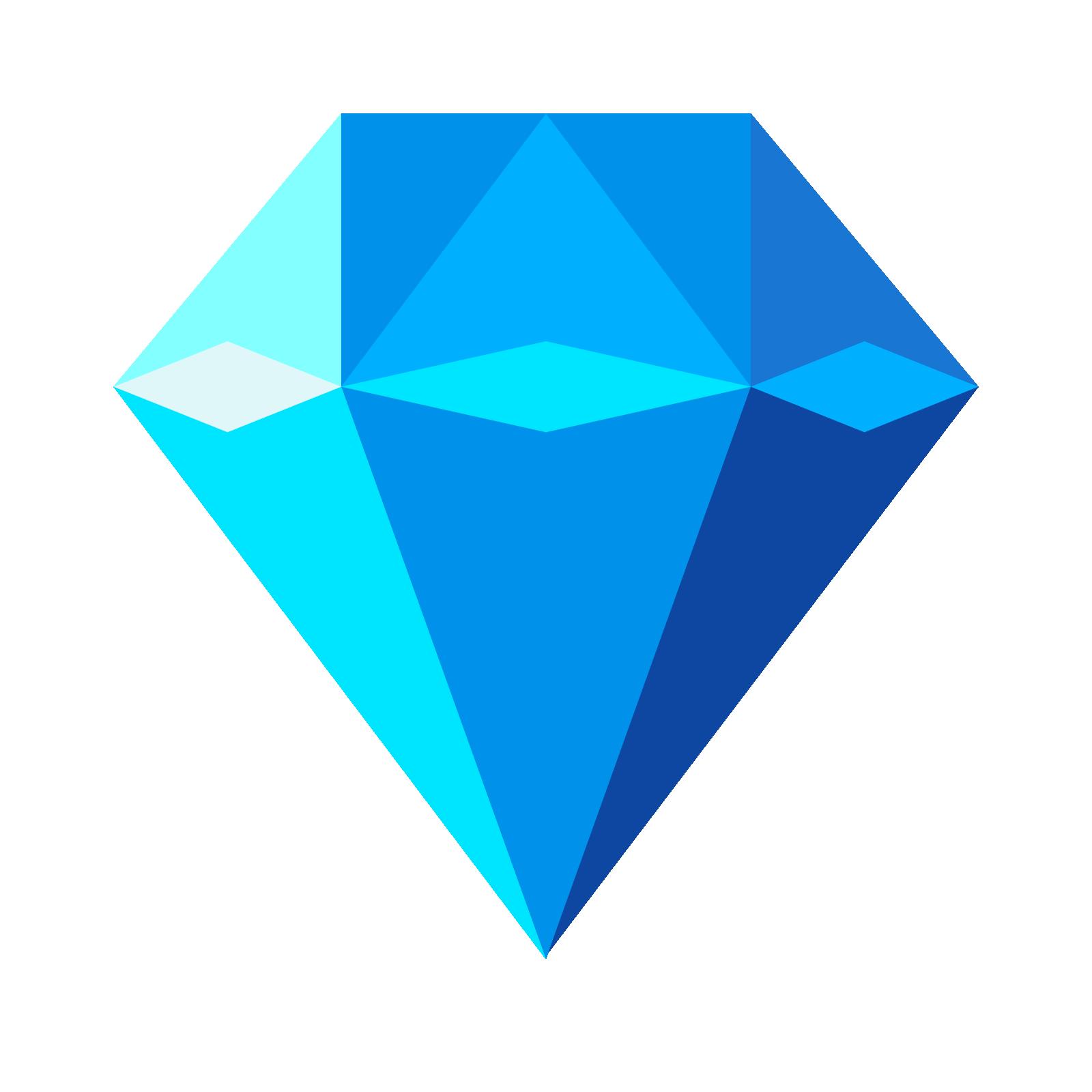 Diamonds clipart blue diamond.  free clip art