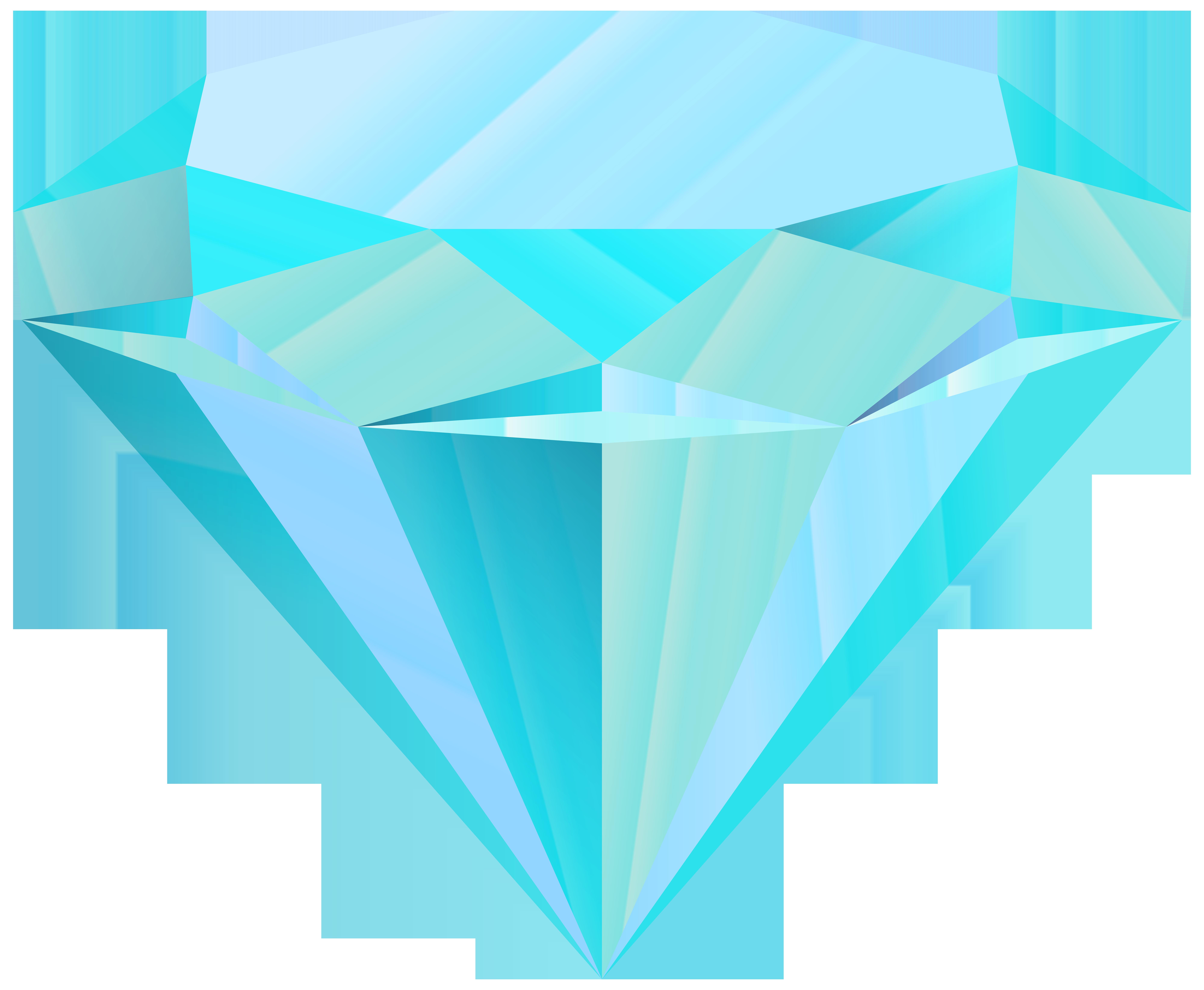 Clipart diamond daimond. Blue clip art png