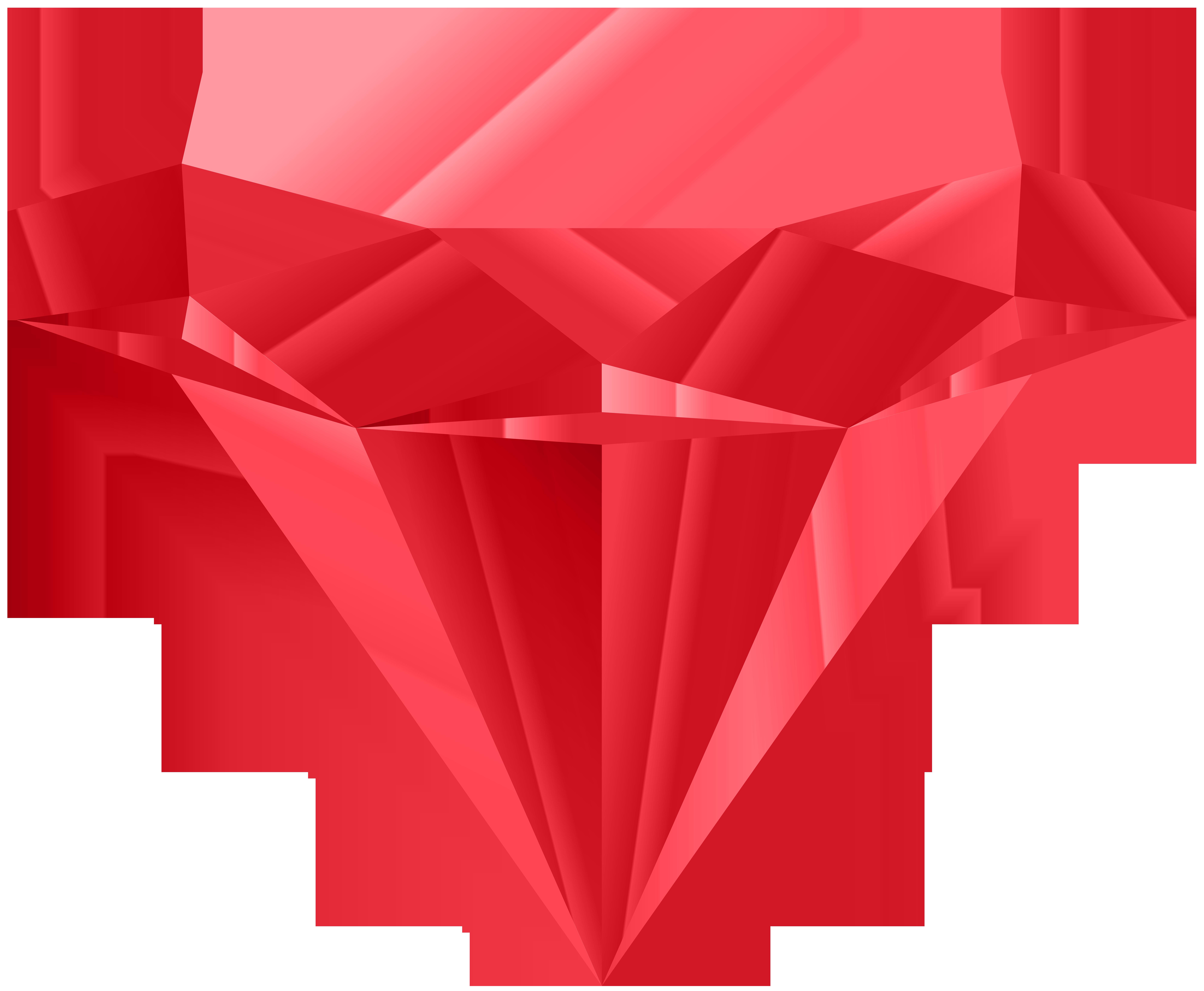 Red png clip art. Clipart diamond daimond