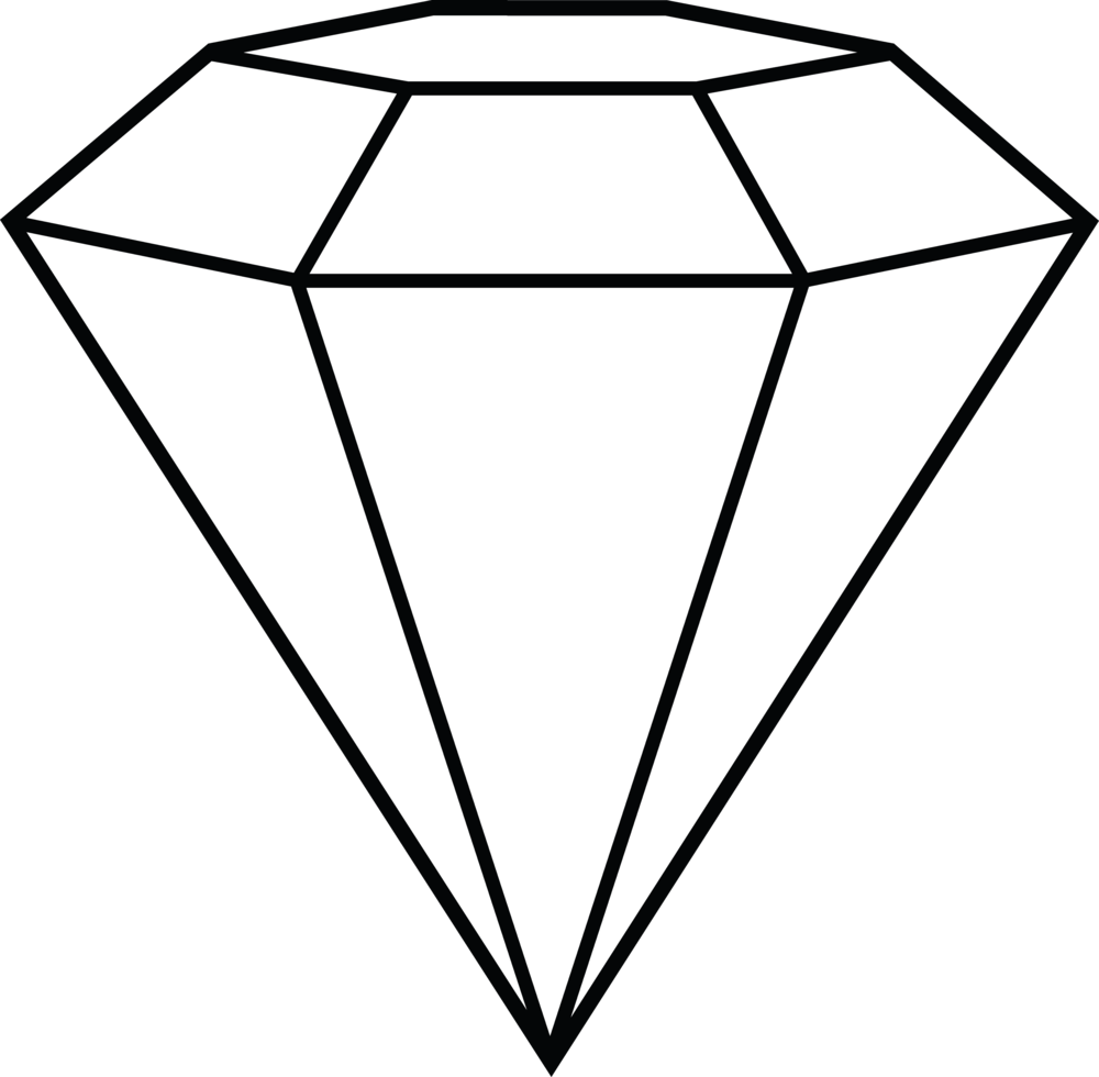 Clipart diamond diamond outline. Welcome to the new