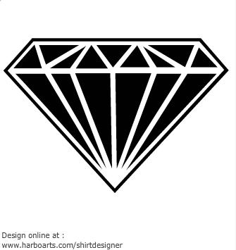 Diamond clipart dimond. Free black cliparts download