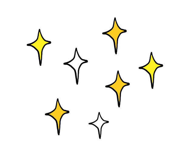 Star transprent png free. Clipart diamond doodle