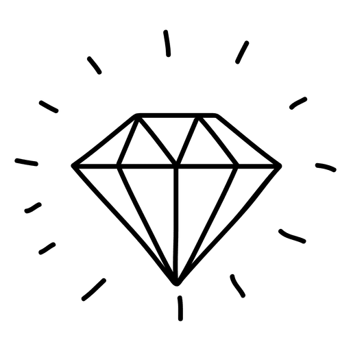 Gemstone drawing doodles png. Clipart diamond doodle