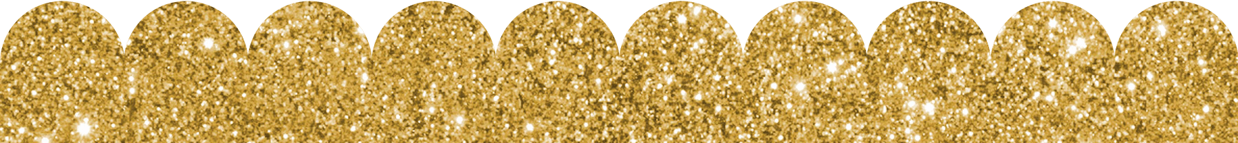Scalloped templates in any. Glitter border png