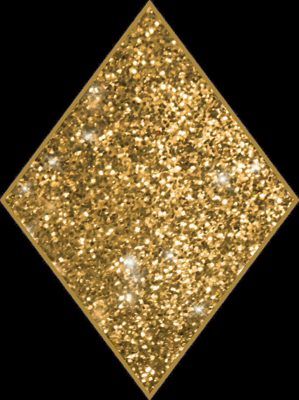 Diamond shape sticker by. Diamonds clipart gold glitter