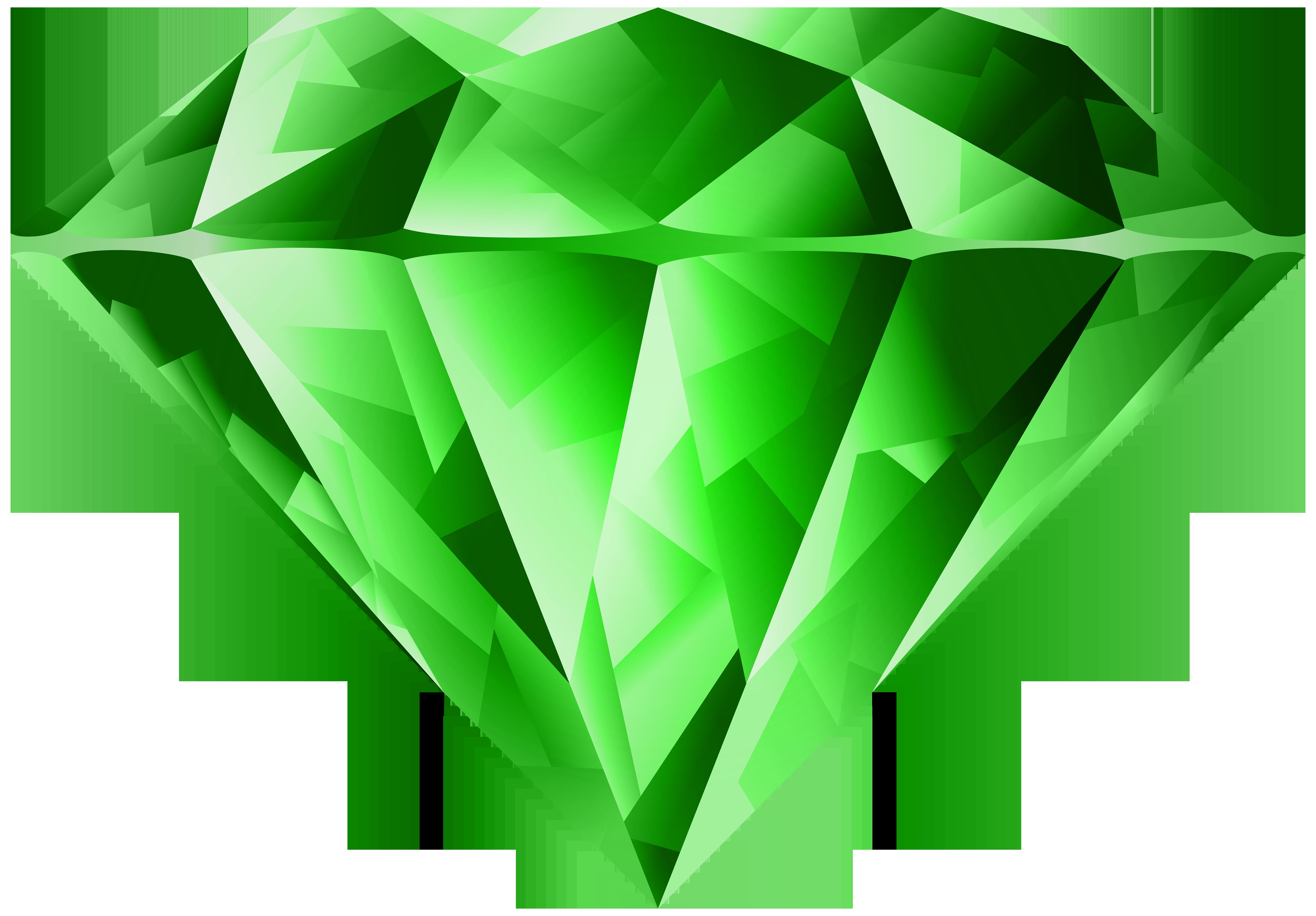 Transparent png clip art. Diamond clipart green diamond