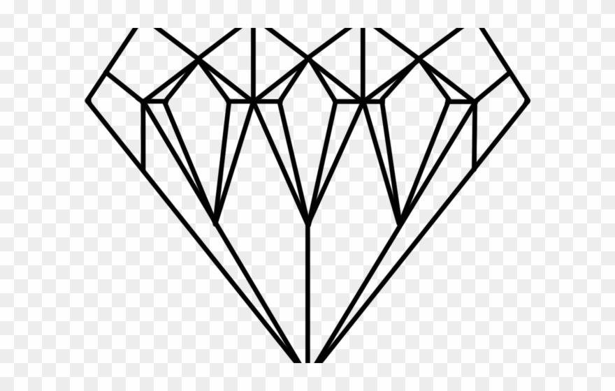 Jewel diamond dantdm pages. Diamonds clipart coloring page