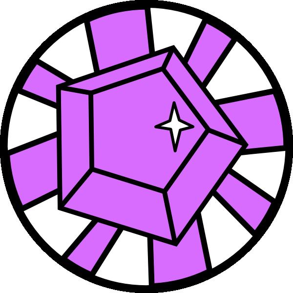 Clip art at clker. Gem clipart diamond
