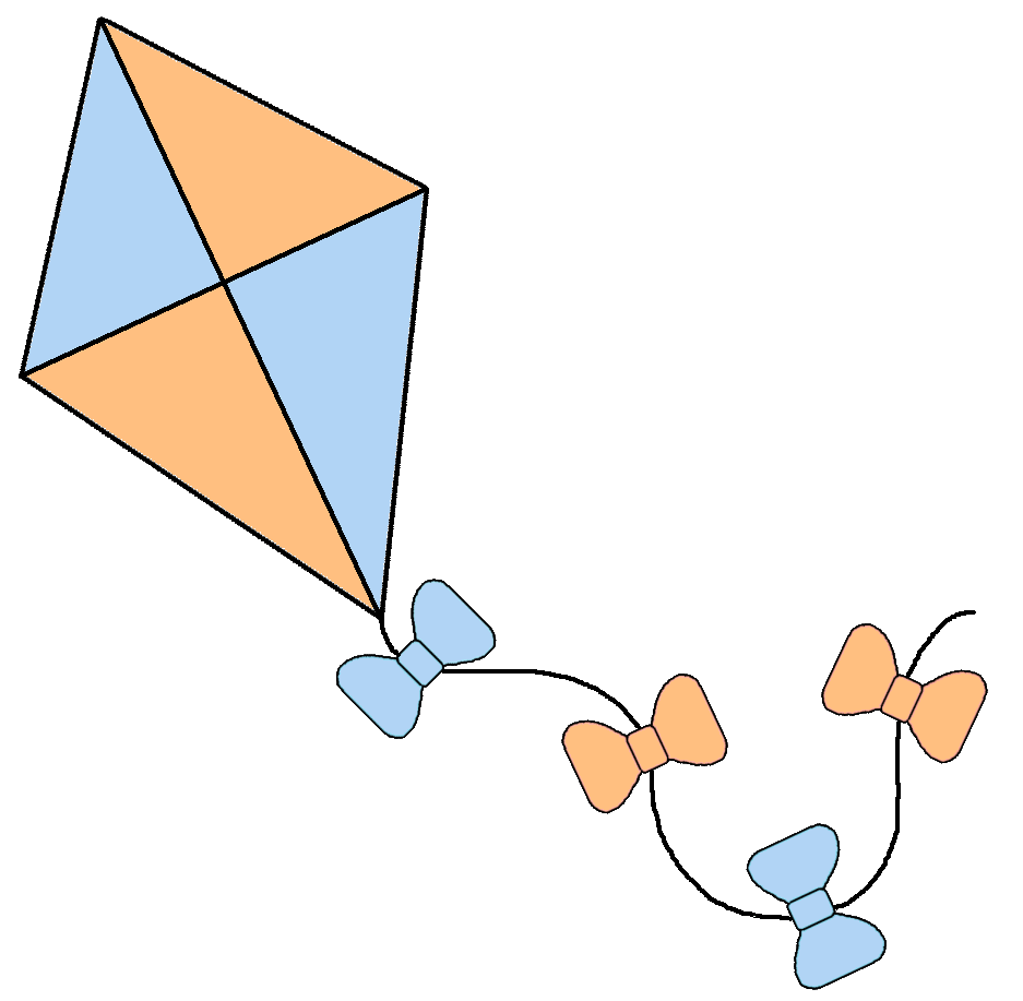 Graphics by ruth kites. Clipart kite diamond
