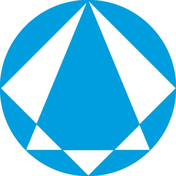 Blue clip art at. Clipart diamond logo