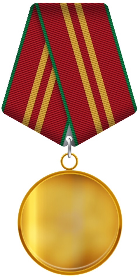 Medal clipart red. Gold png free images