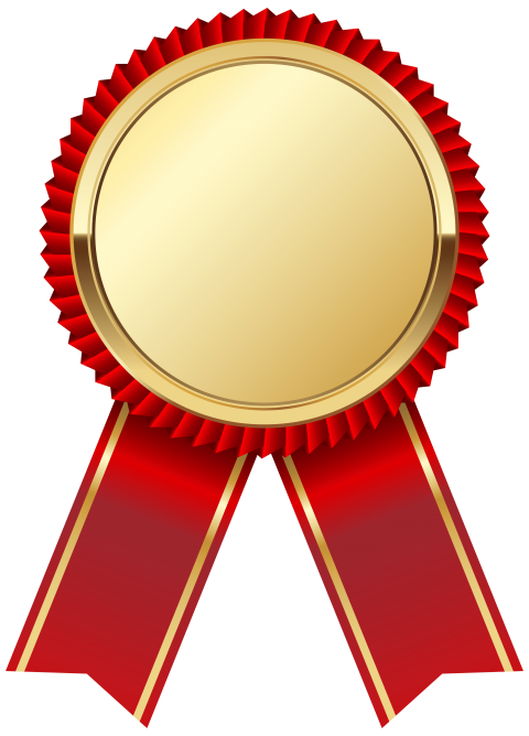 Clipart diamond medal. Gold png free images