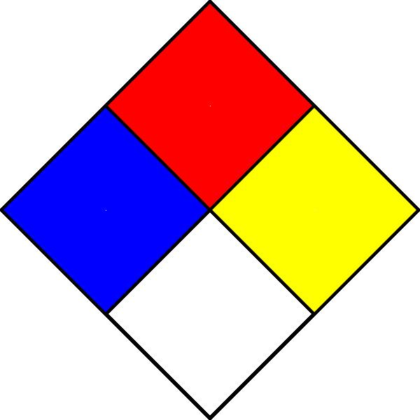 Hazmat group symbols clip. Clipart diamond object