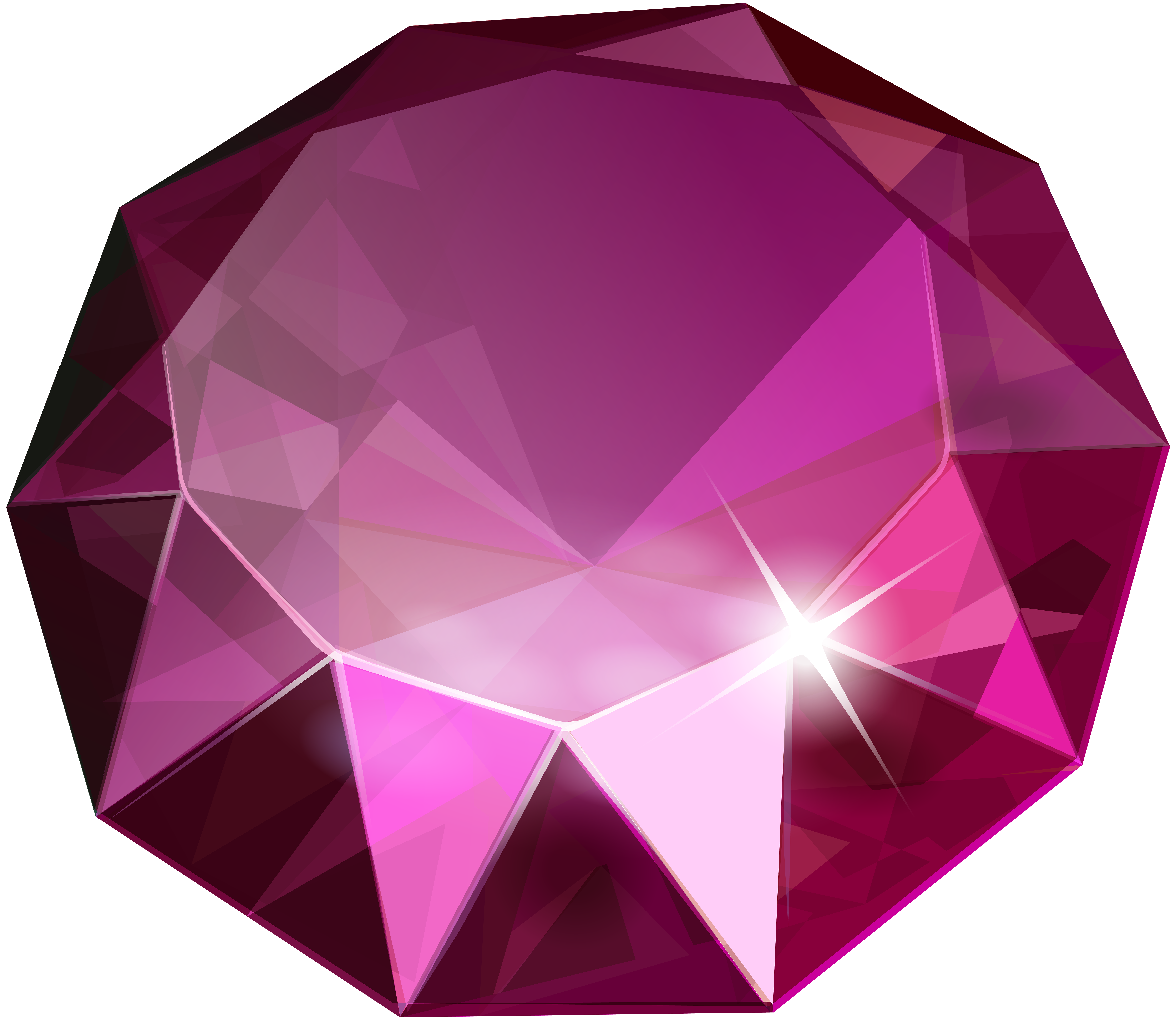 Pink diamond transparent clip. Diamonds clipart purple