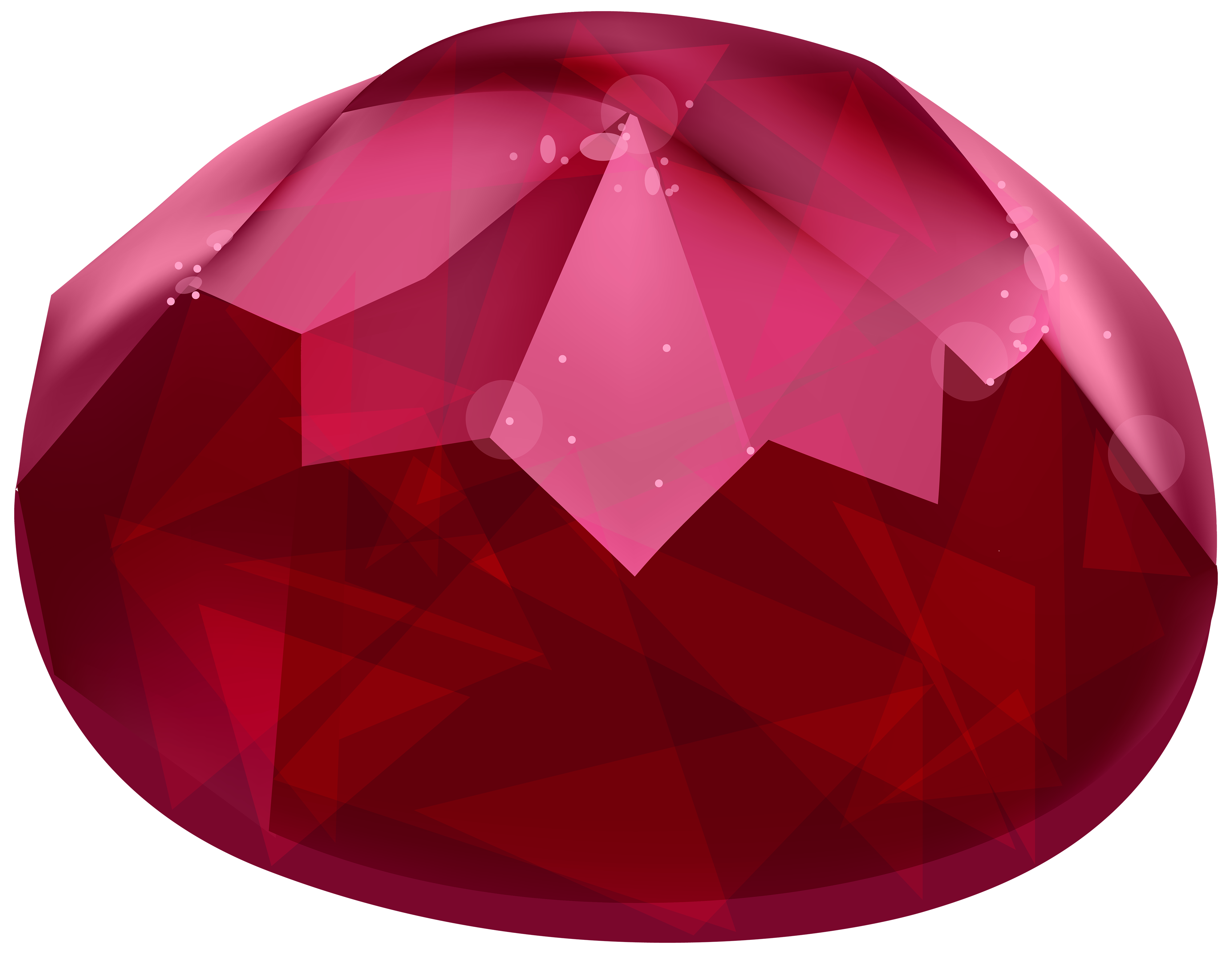 Red gem png best. Clipart diamond pink