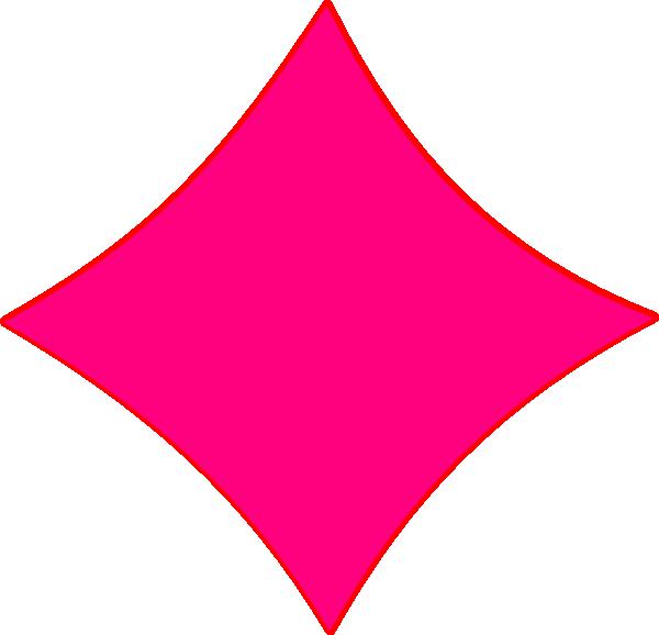 clipart diamond pink