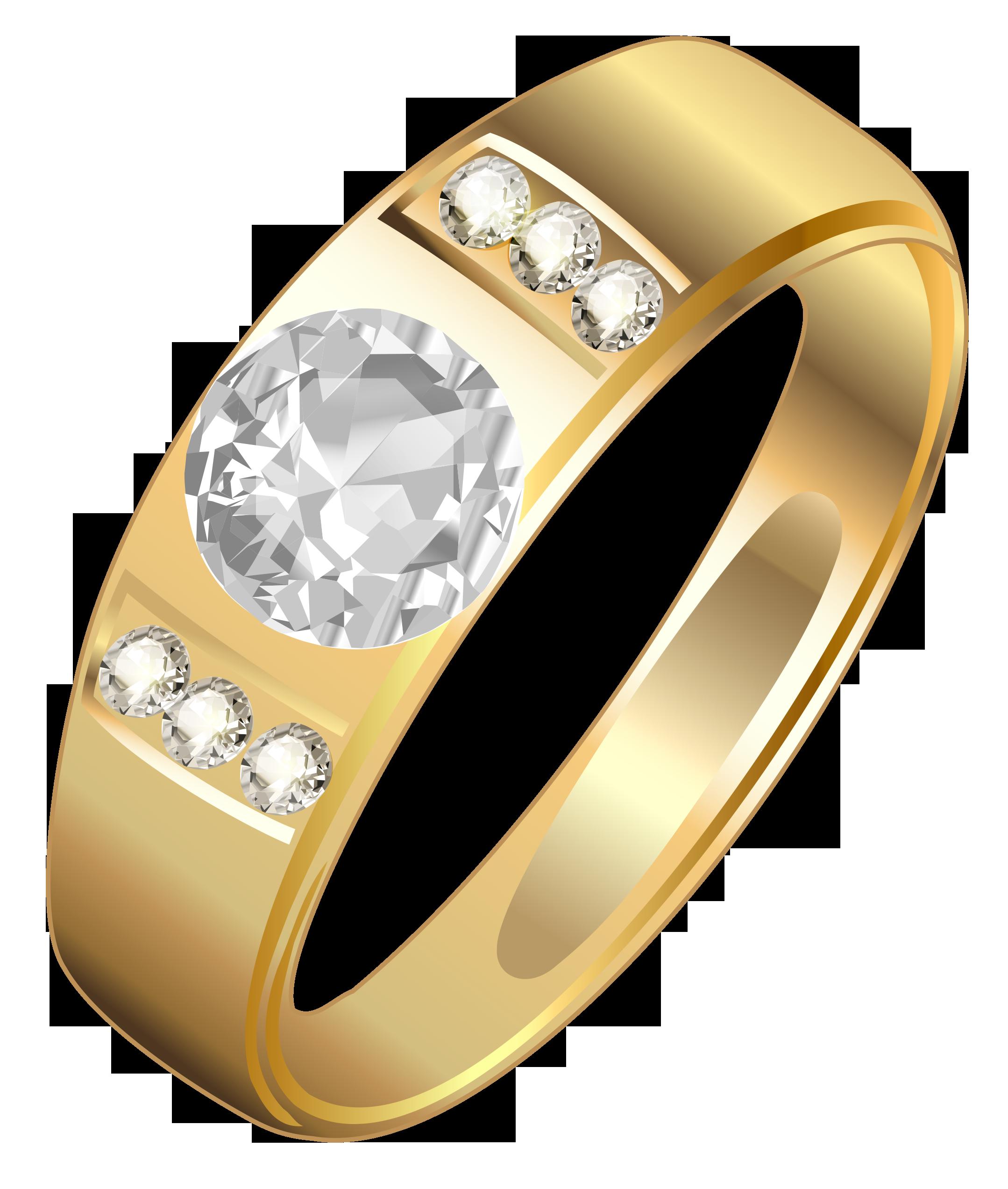 Golden ring png gallery. Diamonds clipart platinum