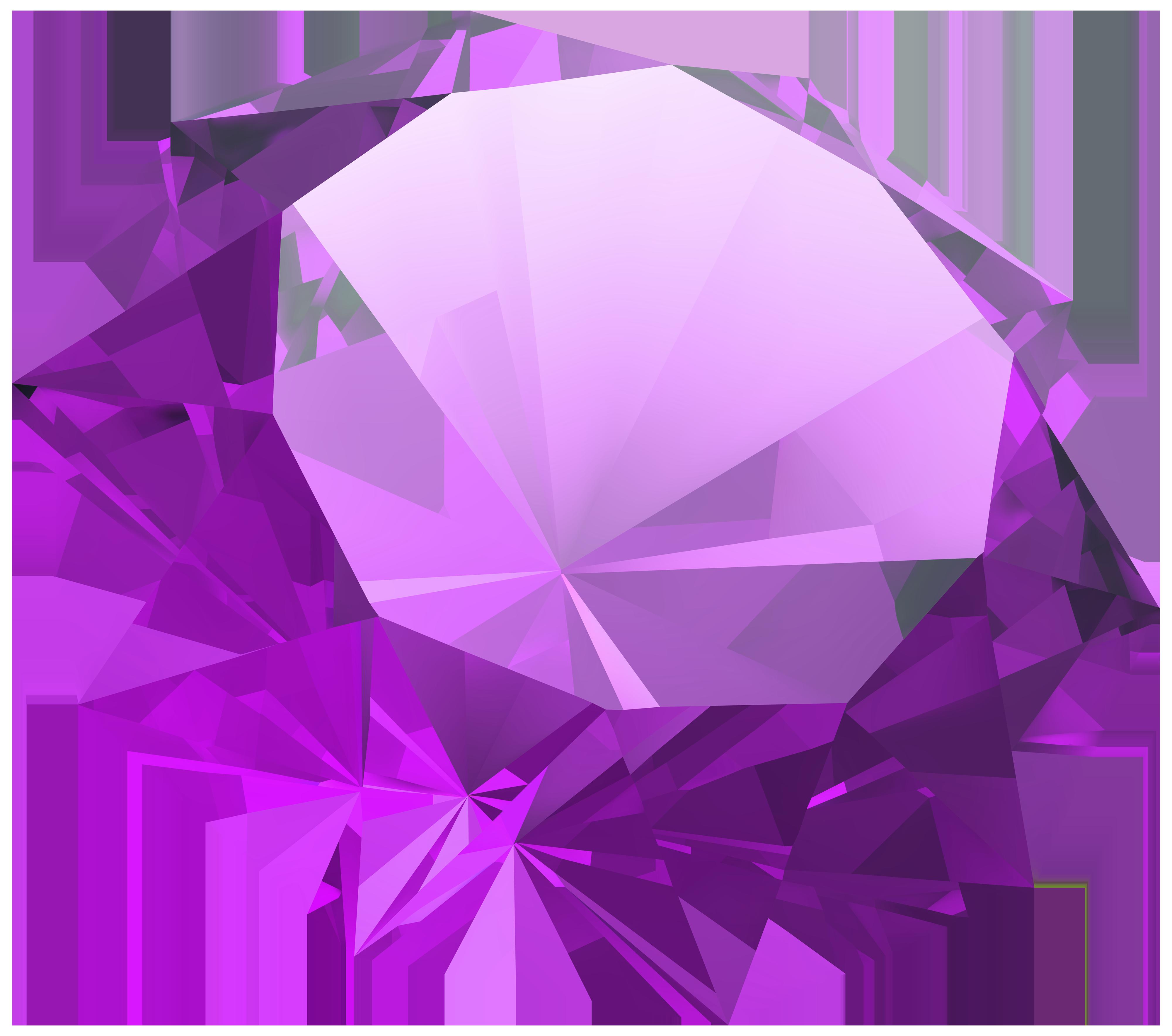 Purple diamond png best. Clipart rock mineralogist