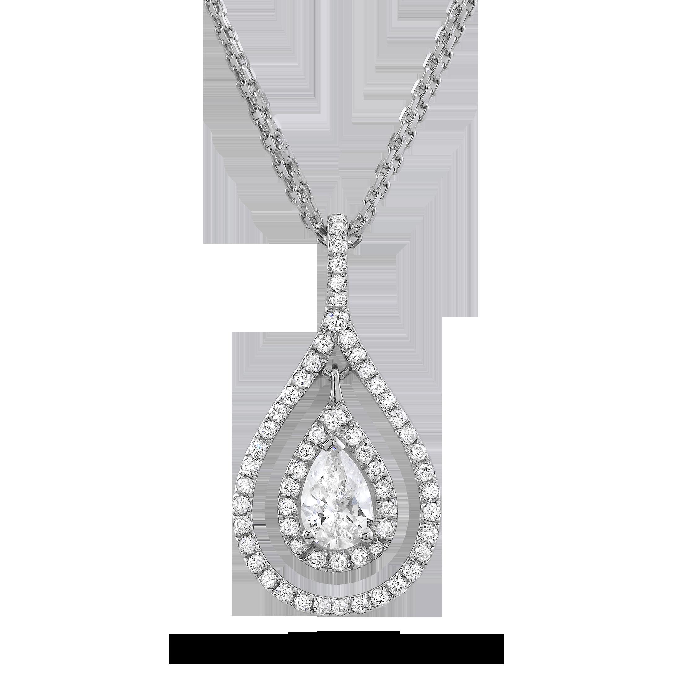 Necklace platinum