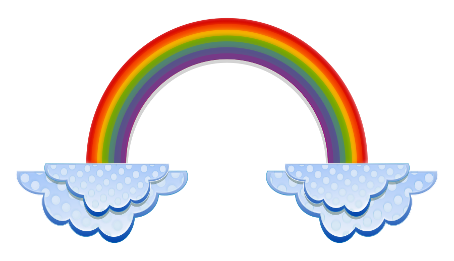 Clipart rainbow diamond.  collection of small