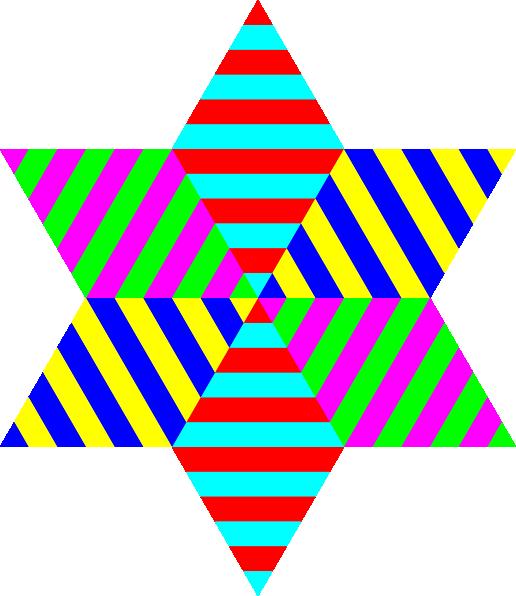 clipart diamond rainbow