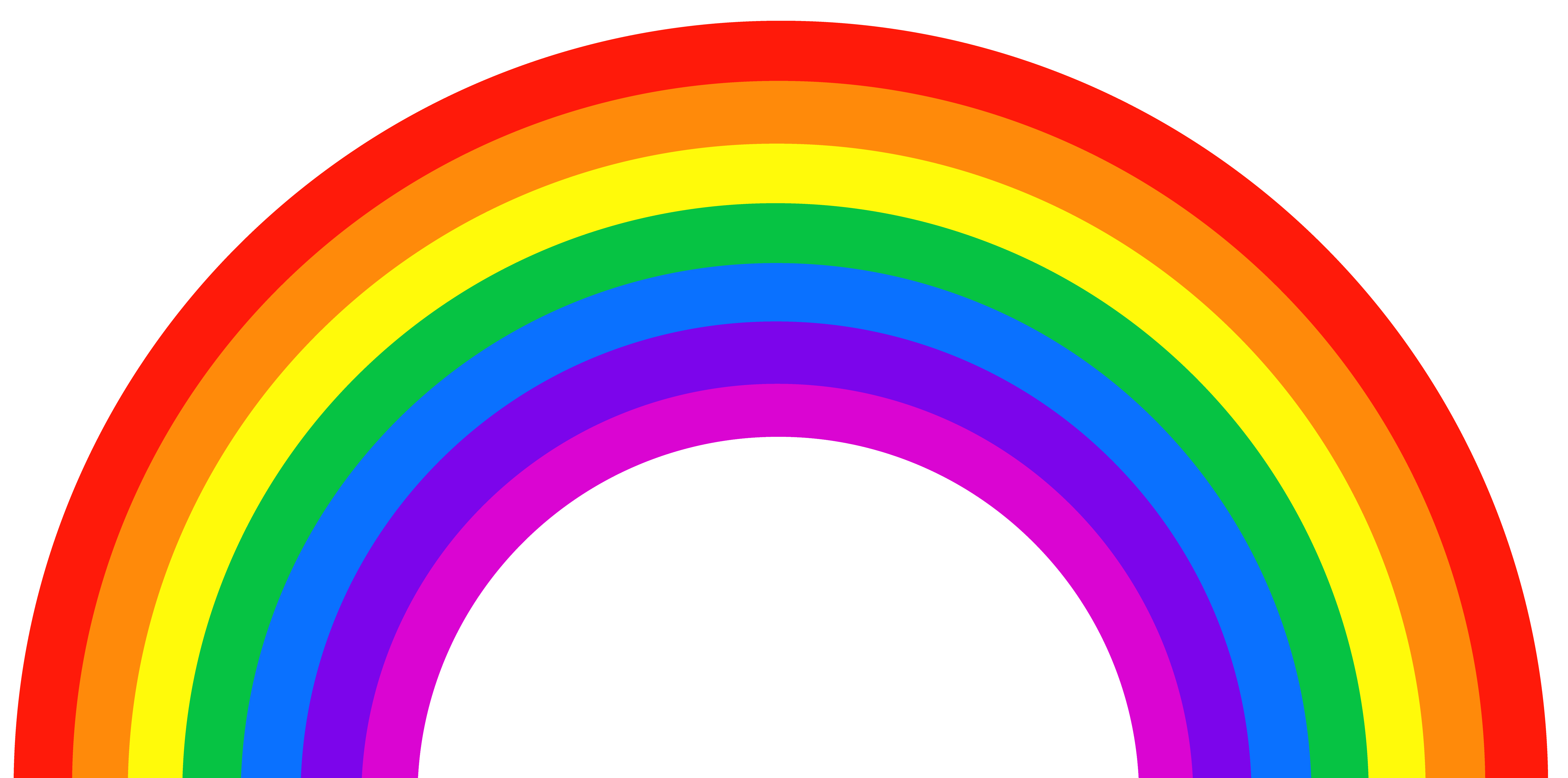 Png picture gallery yopriceville. Streamers clipart rainbow