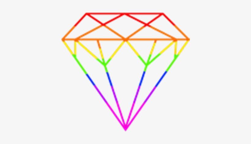 Png image . Clipart rainbow diamond