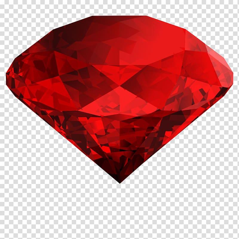 Illustration diamonds ruby . Diamond clipart red diamond