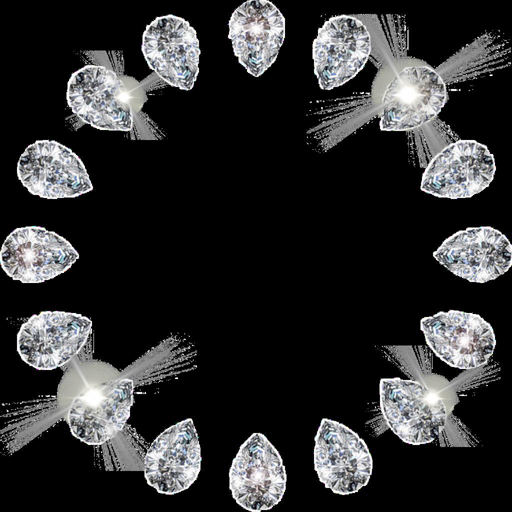 Diamond clipart rhinestone. Frame border
