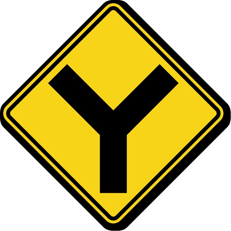 Goals clipart road ahead. Warning signs y symbol
