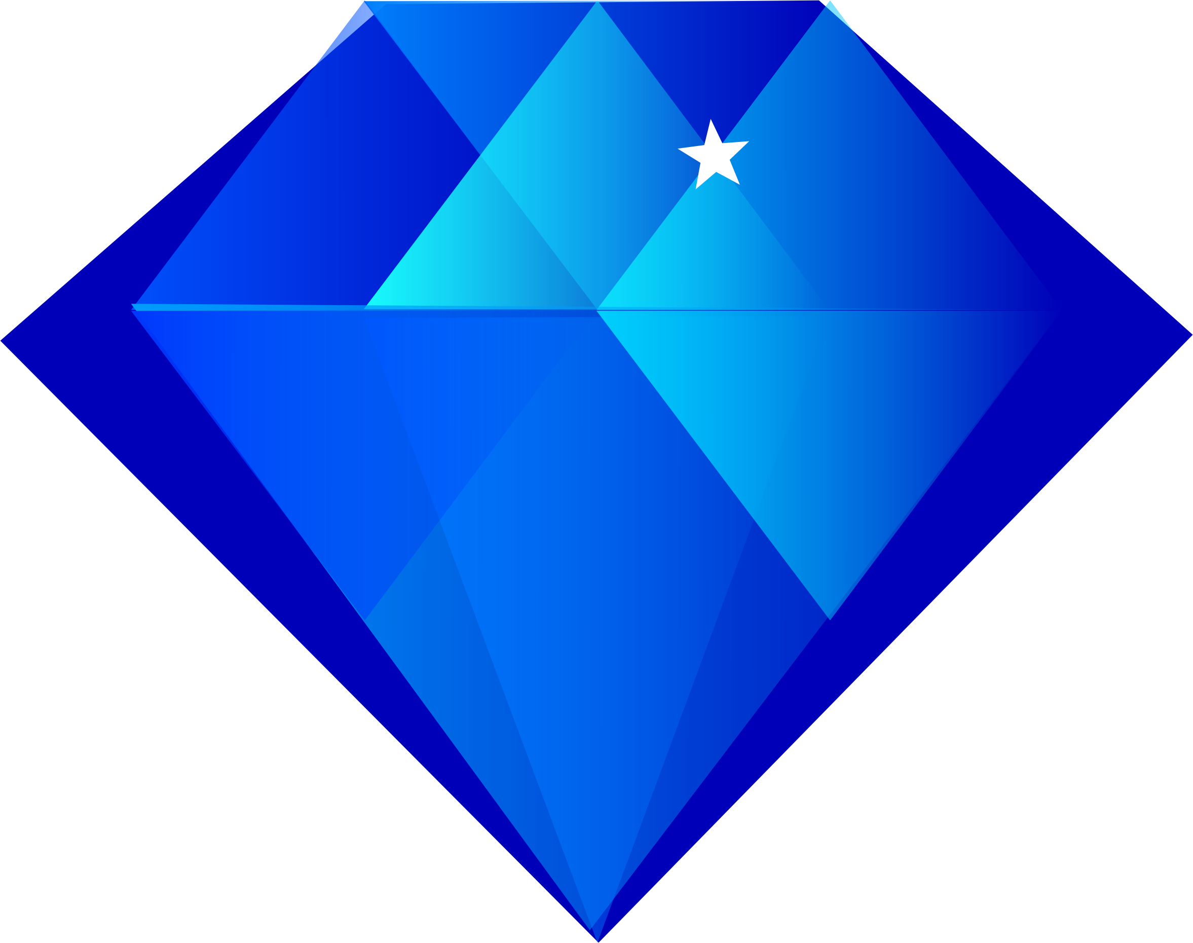 Blue big image png. Diamond clipart cartoon